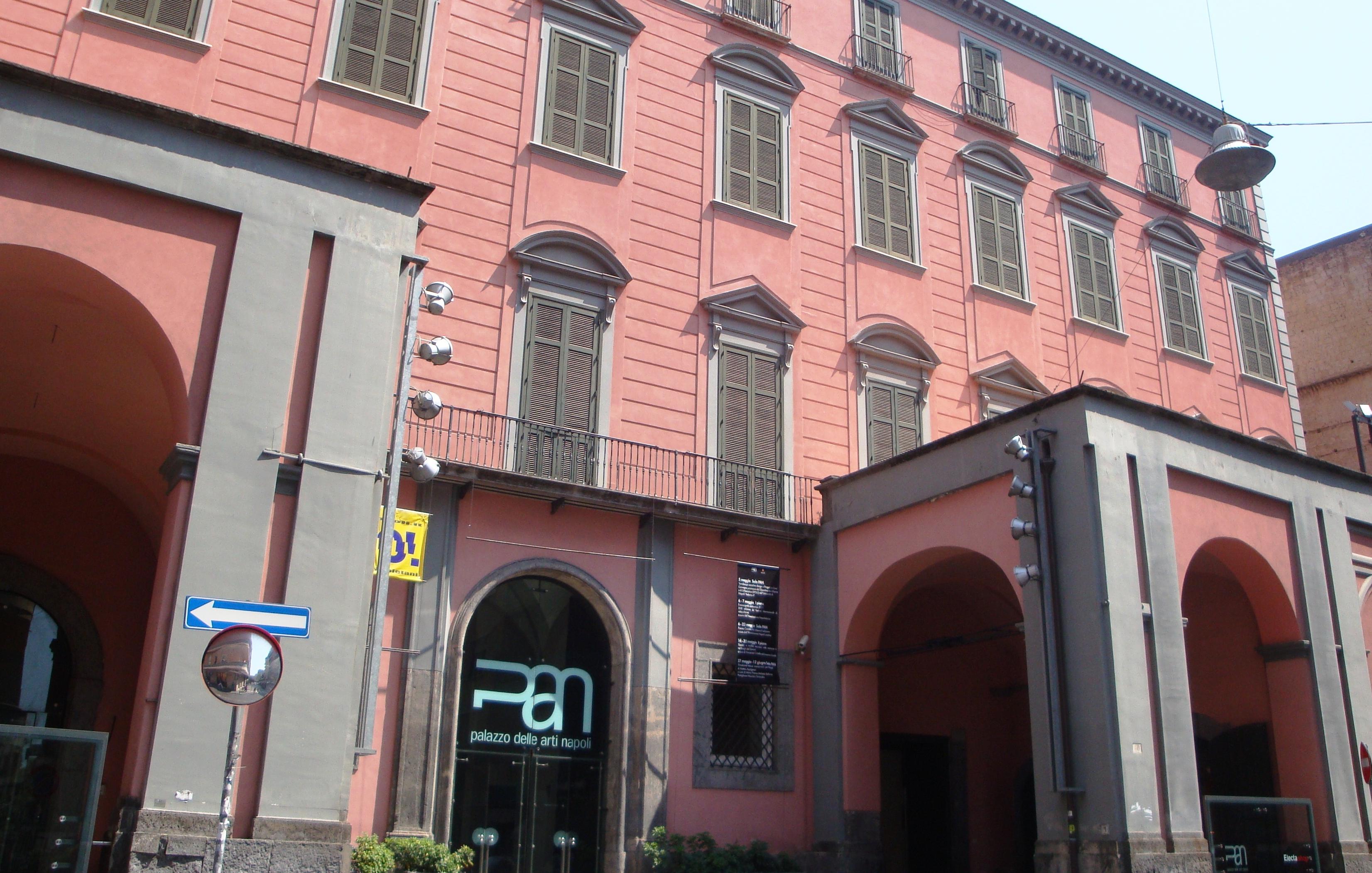 http://www.vienianapoli.com/2014/01/pan-palazzo-delle-arti-di-napoli.html Completato