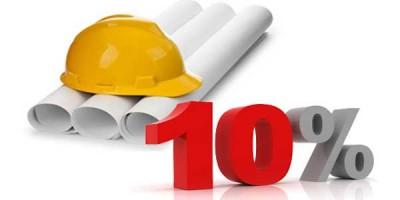 Iva 10 su ristrutturazioni