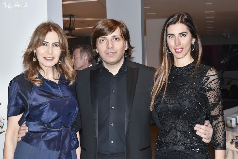 ANTON GIULIO GRANDE CON LE PRINCIPESSE MARIA PIA E GIACINTA RUSPOLI-1