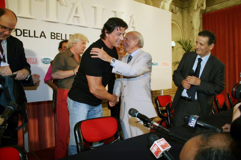 con Sylvester Stallone M.I.2006 IMG_3848