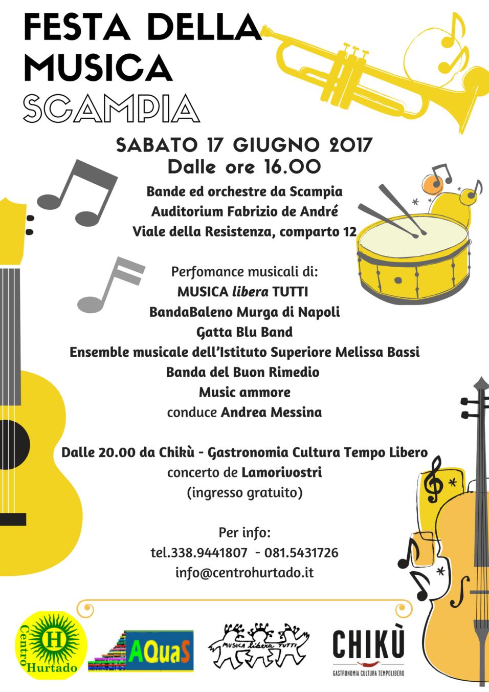 festa della musica locandina A