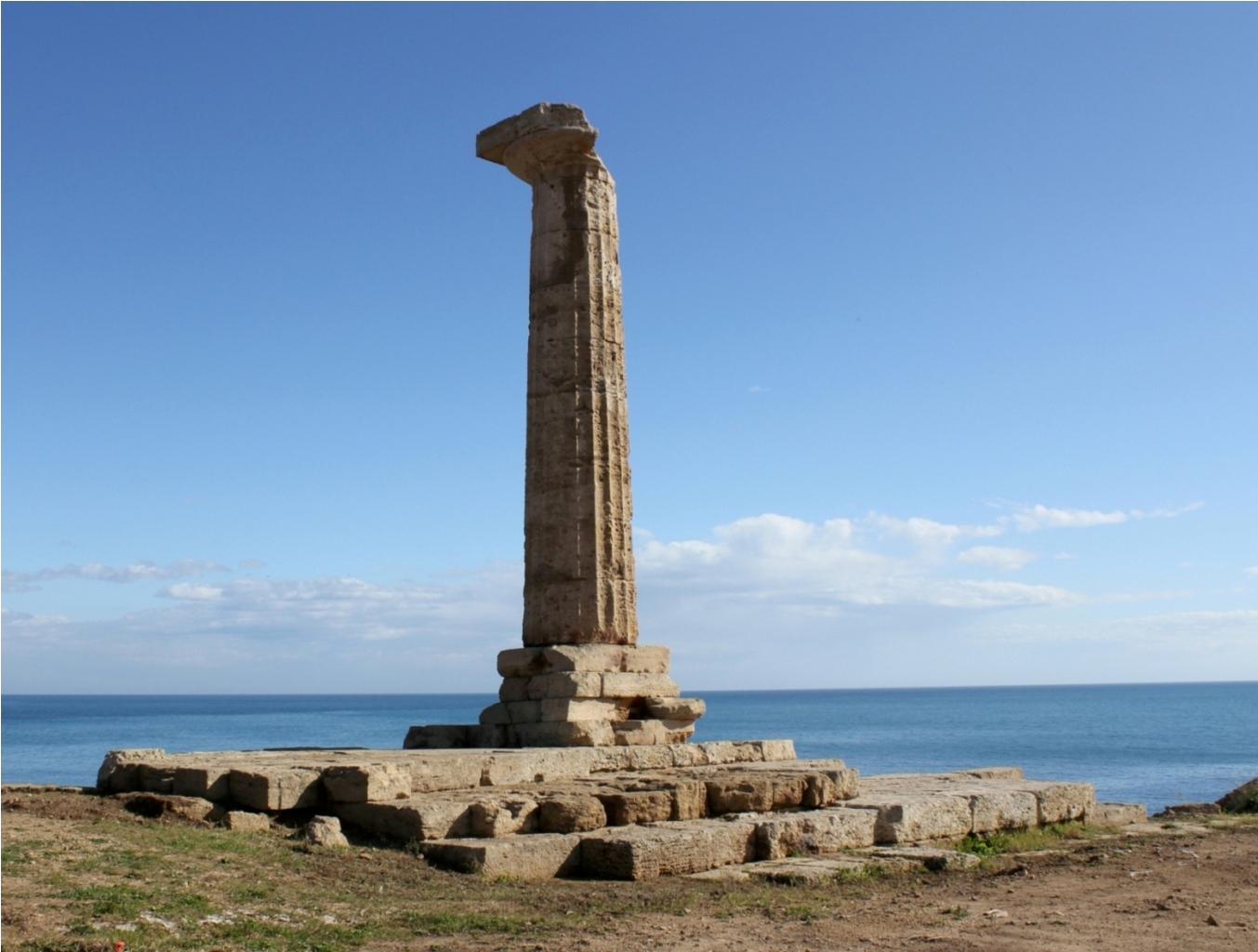 Museo e parco archeologico nazionale di capo colonna for Casa moderna crotone